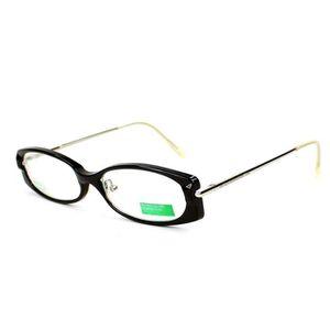 LUNETTES DE VUE Lunettes de vue Benetton BE002 -A5 Noir - Argent ... 56704439b38b
