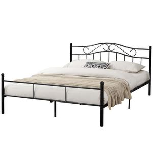 lit complet adulte 200x200 avec sommier et matelas achat vente lit complet adulte 200x200. Black Bedroom Furniture Sets. Home Design Ideas