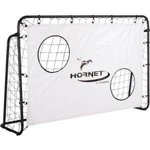CAGE DE FOOTBALL Hudora 76918 But de football Hornet 180 avec mur d