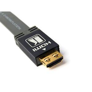 CÂBLE TV - VIDÉO - SON HDMI PLAT (5 m)