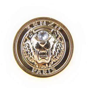 BAGUE - ANNEAU Bague tête de tigre plaqué or femme KENZO ... 4a2aa89381a