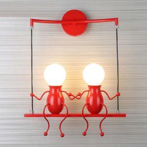 Cher Applique Pas Murale Rouge Vente Achat Kc3l1TFJ