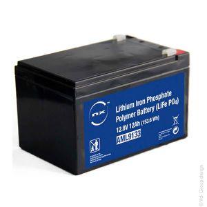 BATTERIE DOMOTIQUE NX - Batterie lithium fer phosphate 12V 12Ah T2