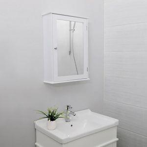 MEUBLE BAS COMMODE SDB Songmics meuble salle de bain,Armoire de Toilettes