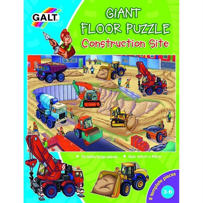 GALT Puzzle Géant de Sol Le Chantier