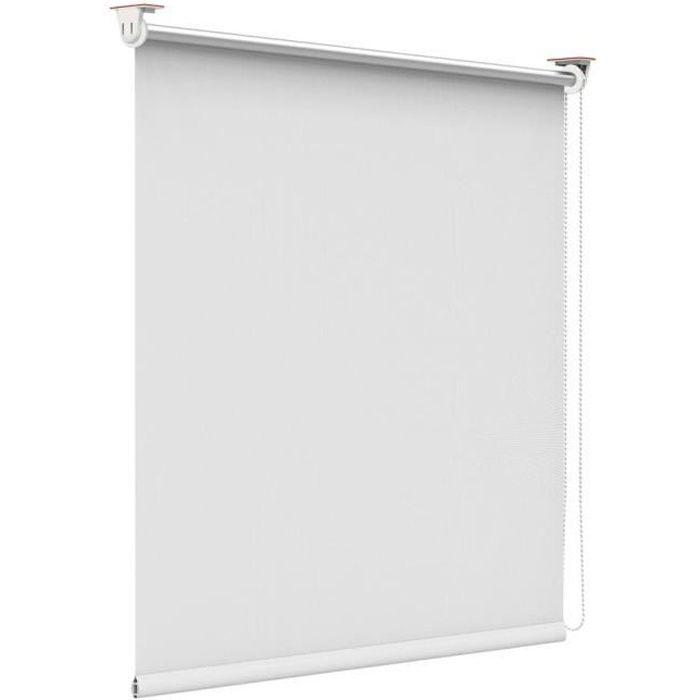 Store enrouleur Blanc 50 x 170 cm store occultant thermique isolant ...