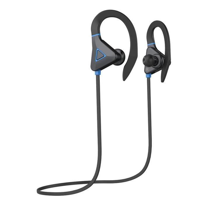 S1 Écouteur Sans Fil Bluetooth Sport Étanche Écouteurs (bleu)