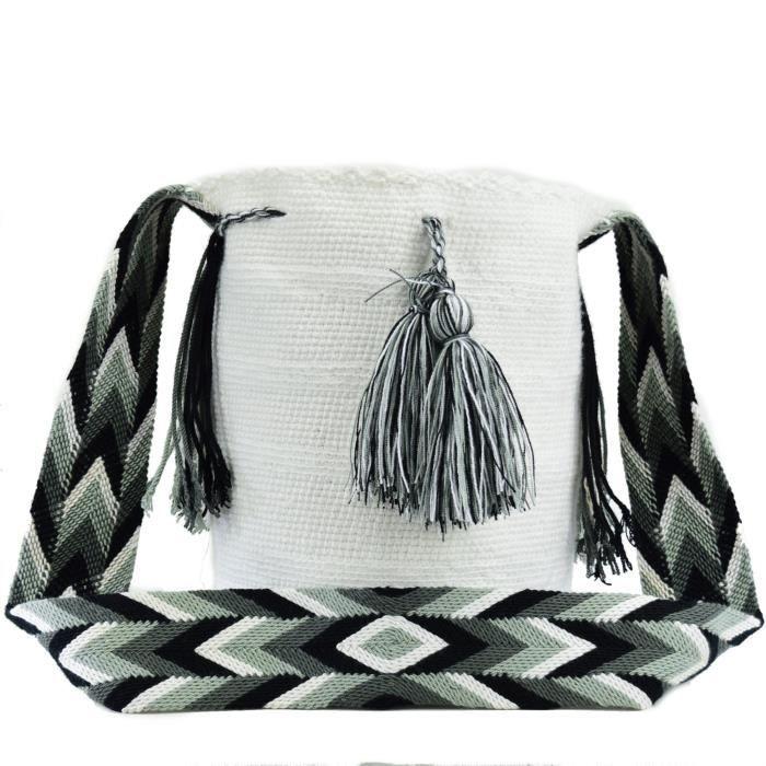 Wayuu Sac - Grand Mochila - solide - 2574 LKSCY