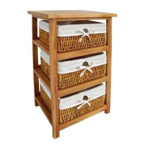 Premier housewares meuble de rangement 3 panier achat for Acheter bois pour meuble
