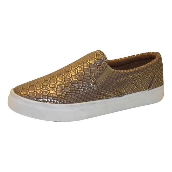 Slippers imprimé python Or Or - Achat   Vente basket - Cdiscount 8122f233b