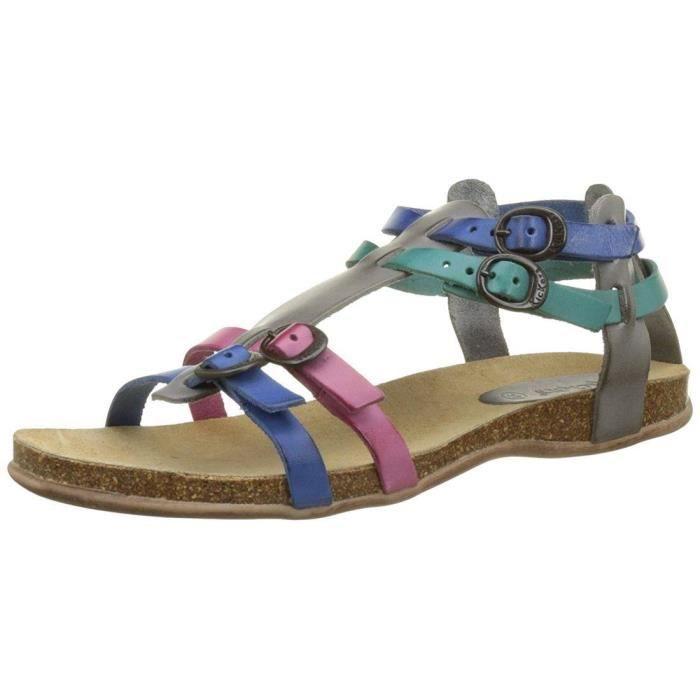 sandales / nu pieds ana femme kickers 281774