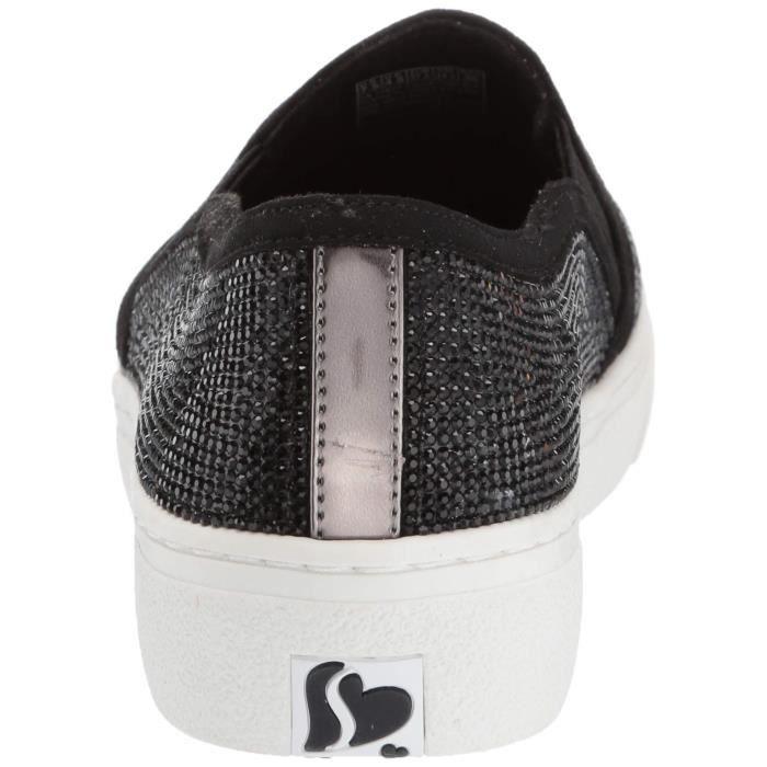 flashowSmall Taille Goldie Skechers 1 Rhinestone Women's 2 Tonal O98t3 Sneaker Slip On 36 fygI76Ybv