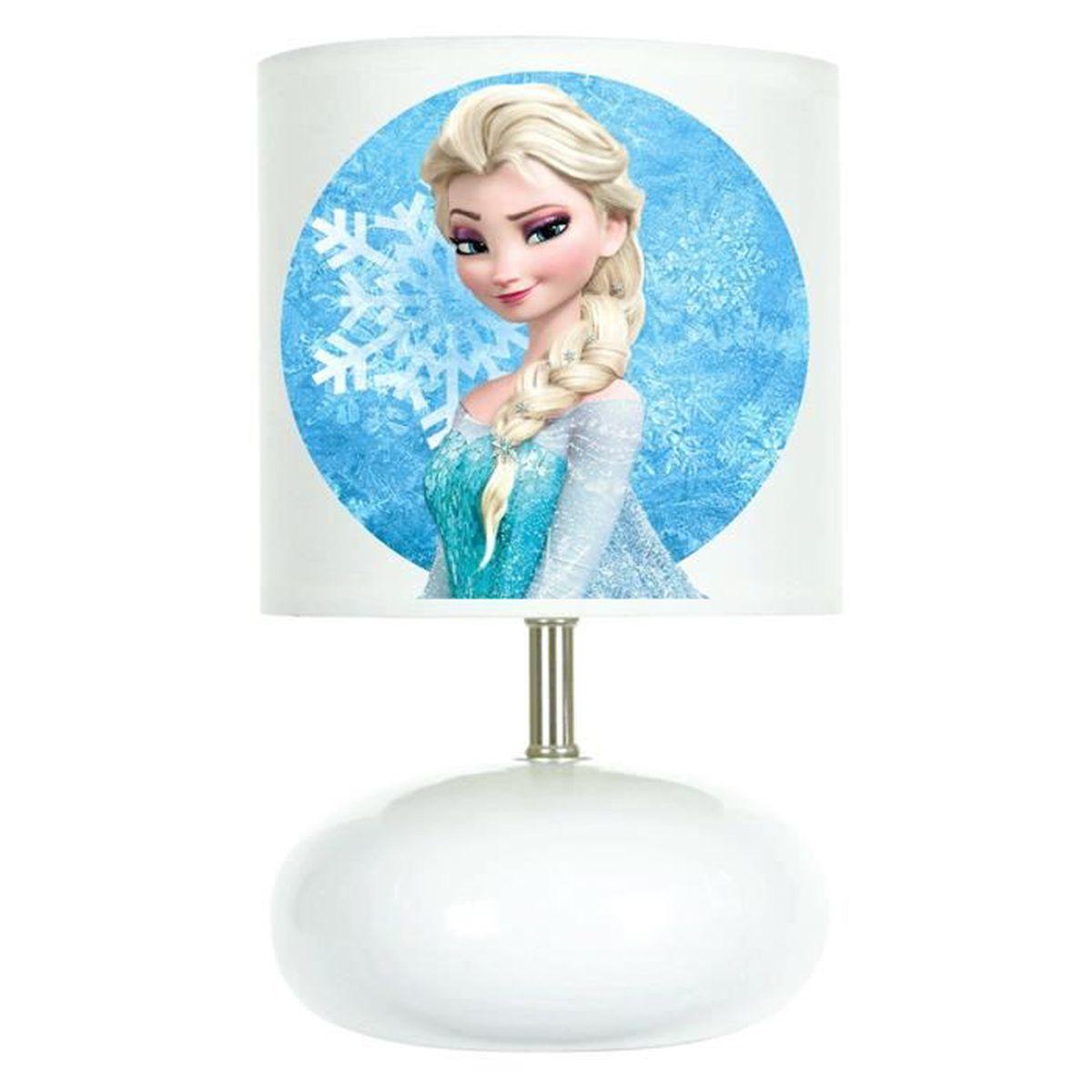 Création Pe Des Neiges Reine Enfant De Lampe Chevet Frozen c4RqS35AjL