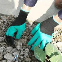 GANT DE JARDINAGE Accessoire jardinage Une paire Gants en latex ABS