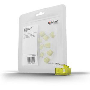 LINDY Kit d'extension pour verrous RJ45 (20 pi?ces) - Jaune