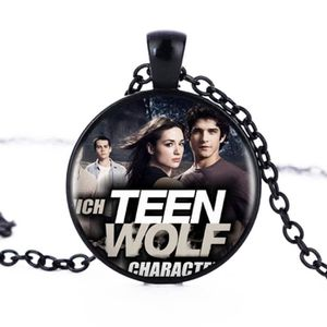 SAUTOIR ET COLLIER Teen Wolf Logo pendentifs et collier pour femme -