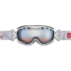 ce459574b3b2d MASQUE - LUNETTES SKI Masque de ski pour femme CAIRN Blanc JAM Vegetal B