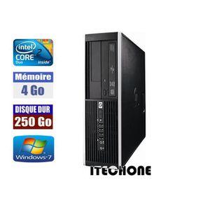 UNITÉ CENTRALE  HP 6000 Pro Core 2 Duo E8400 3,0 GHz 4 Go DDR3 DIS