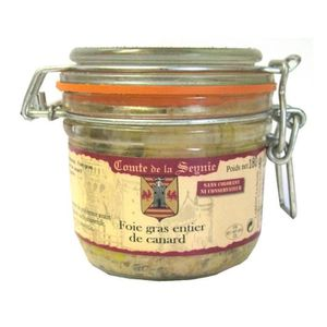 FOIE GRAS COMTE DE LA SEYNIE Foie Gras Canard Entier 180g