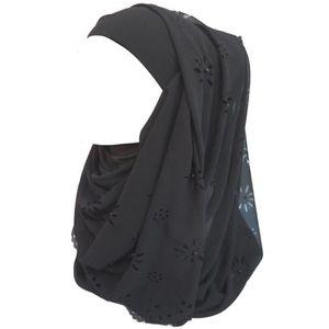 ECHARPE - FOULARD Écharpe Hijab pour Femme Musulmane en Mousseline d 31852cbf746