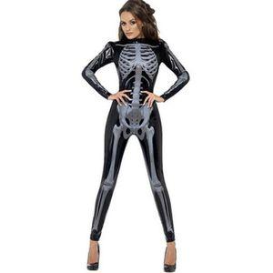 DÉGUISEMENT - PANOPLIE Halloween Squelette Costumes Salopette