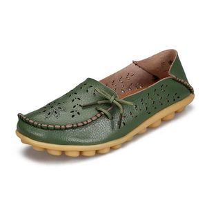 MOCASSIN Femmes Chaussures en cuir Mocassin décontractée ch