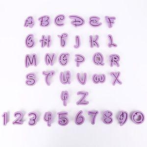 MOULE  Naisidier 36x moule lettres chiffres Découpe Pâte