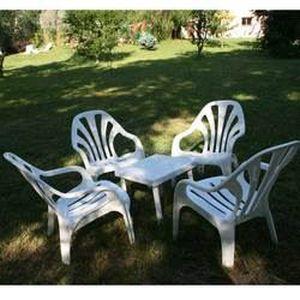 salon de jardin detente bolero 6 fauteuils achat vente salon de jardin salon de jardin. Black Bedroom Furniture Sets. Home Design Ideas