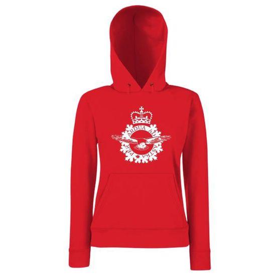 A Tm0019 Femme Capuche Sweatshirt Force1 Canada Royal Canadian Air UwgTdzqH
