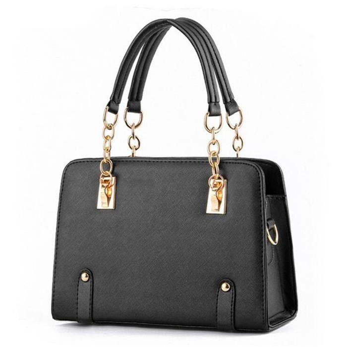 d687c06447 Sac à main cuir sac femme de marque sac bandouliere sac cuir femme sac de  luxe Sacoche Femme Sac à main femme sac à main noir