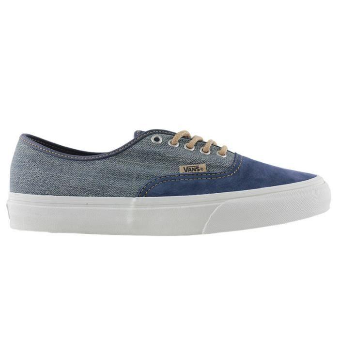 Vans authentic utilitrn blue Bleu - Chaussures Chaussures de Skate Homme