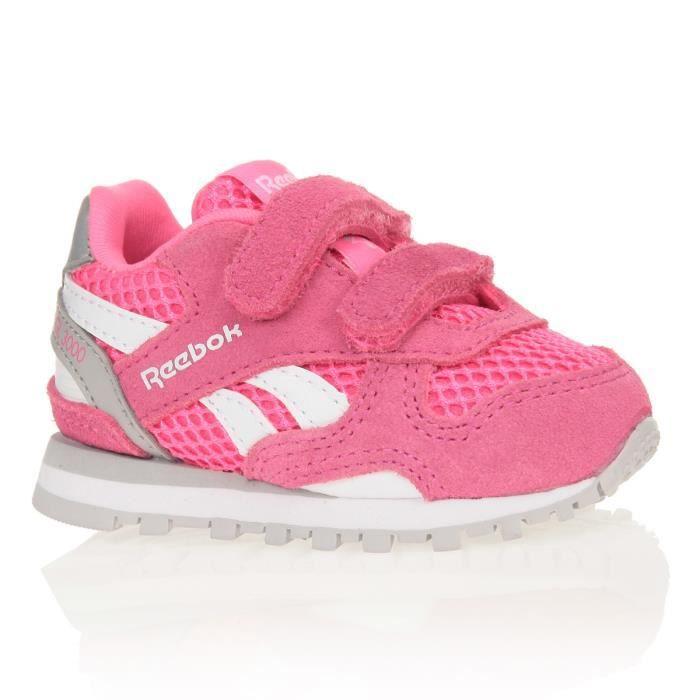 Rose Gris Td Chaussures Reebok Blanc Baskets Bébé Et 3000 Fille Gl qO7wB1A