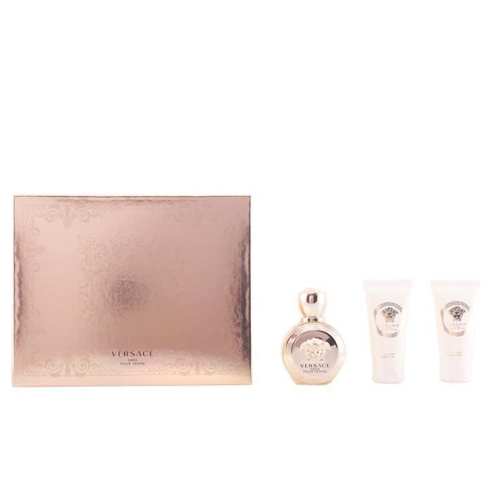 Versace - EROS POUR FEMME COFFRET 3 pz - Achat   Vente eau de parfum ... aa9a264f32d