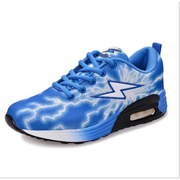 foudre d'été creux la chaussures respirant net nouveau étudiants lovers chaussures chaussures Les Bleu fluorescentes wZqIHn6qa