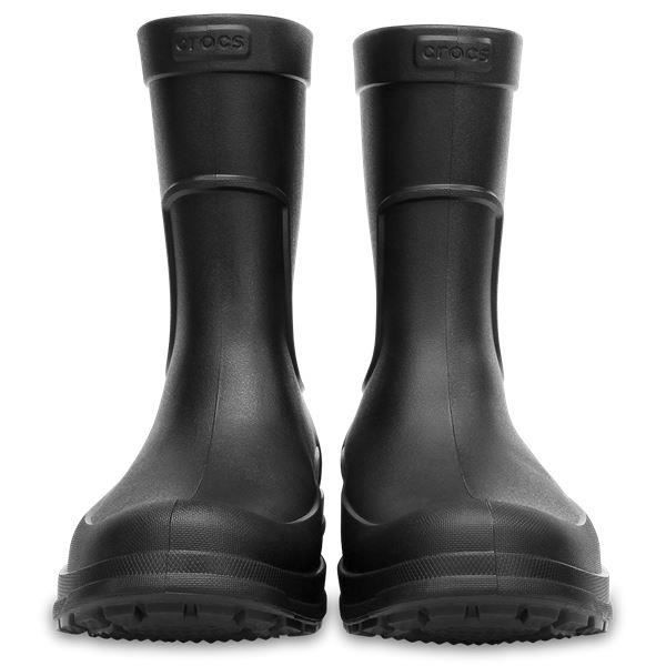 Crocs AllCast Rain Relaxed Fit Bottes en Noir 204862 060 [UK M10US M11]