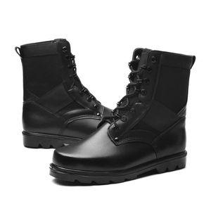 Bottes pour Hommenoir 44 Homme Combat Commando désert hiver randonnée en plein air Chaussures militaires tactiques (Ta_2223 fz2UpW