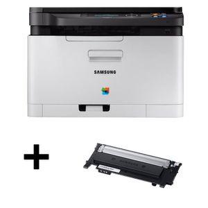 Pack Samsung Imprimante multifonction 3 en 1 SL-C483W - Laser - Couleur - Wifi / NFC + Toner CLT-K404S - Noir