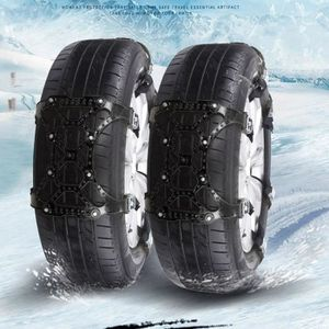 CHAINE NEIGE 1 PC Hiver Camion Voiture Facile Installation Neig