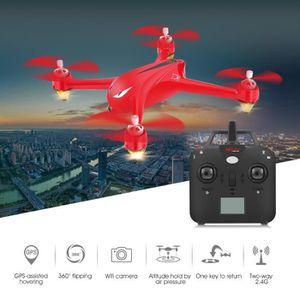 DRONE RC Drone Quadcopter GPS 5.8G FPV Télécommande ToyW