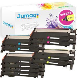 TONER Lot de 10 Toners cartouches type Jumao compatibles