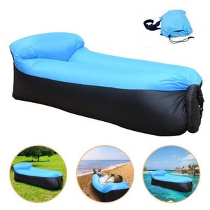 MATELAS GONFLABLE Transat chaise gonflable plage jardin camping