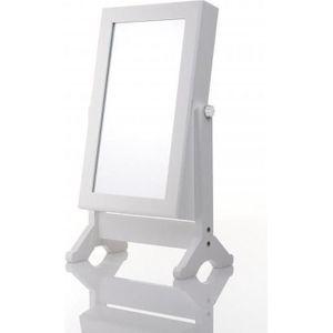 Miroir avec rangement bijoux - Achat / Vente pas cher