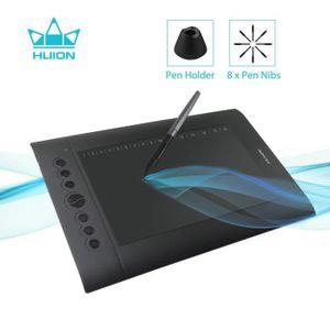 TABLETTE GRAPHIQUE Huion H610 Pro V2 Dessin graphique Fonction d'incl