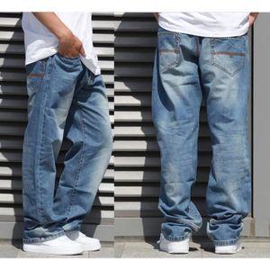 JEANS Pantalon Hommes style Baggy Jeans Pantalons Design