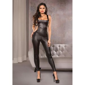 SALOPETTE SEXY Open Back Catsuit