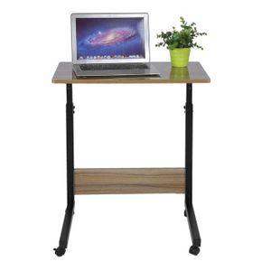 MEUBLE INFORMATIQUE 70-90CM Table D'ordinateur -MEUBLE INFORMATIQUE ha