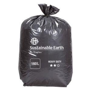 SAC POUBELLE Sac poubelle 160 litres (lot de 10 rouleaux)