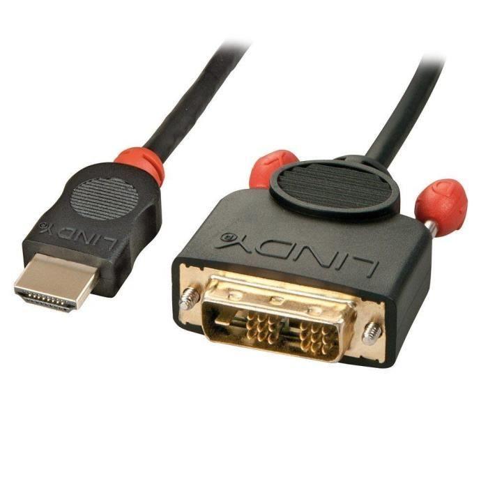 LINDY Câble HDMI vers DVI-D - 5m
