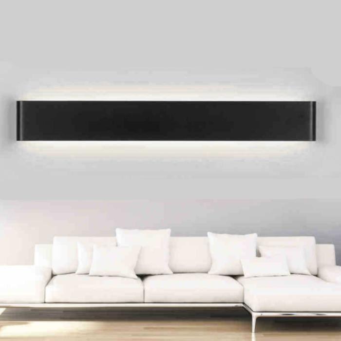 Applique murale LED en aluminium Lampe de chevet salon chambre à ...