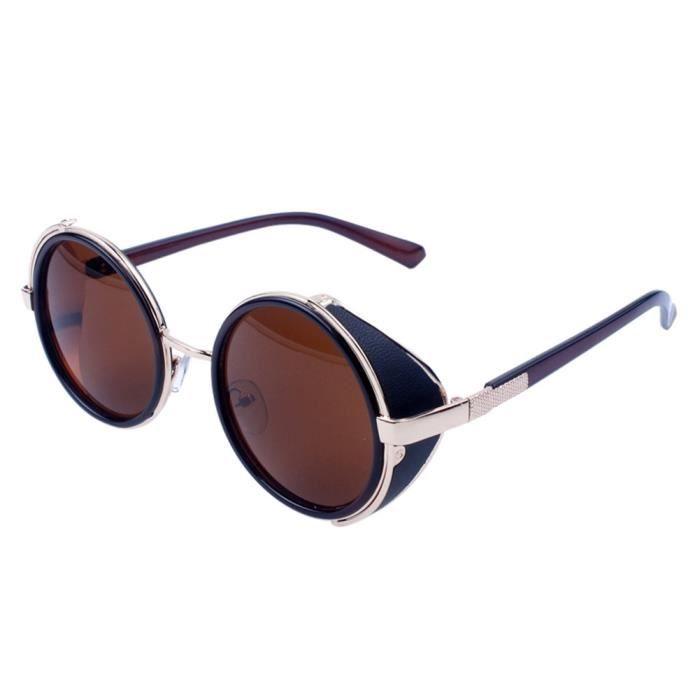 be5e690e5d815b Les femmes hommes mode vintage rétro lunettes de mode unisexe aviateur  miroir voyage lunettes de soleil